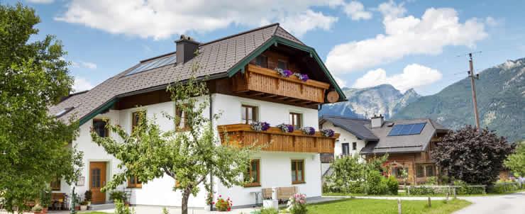 Vakantiehuis en groepsaccommodatie in de Alpen
