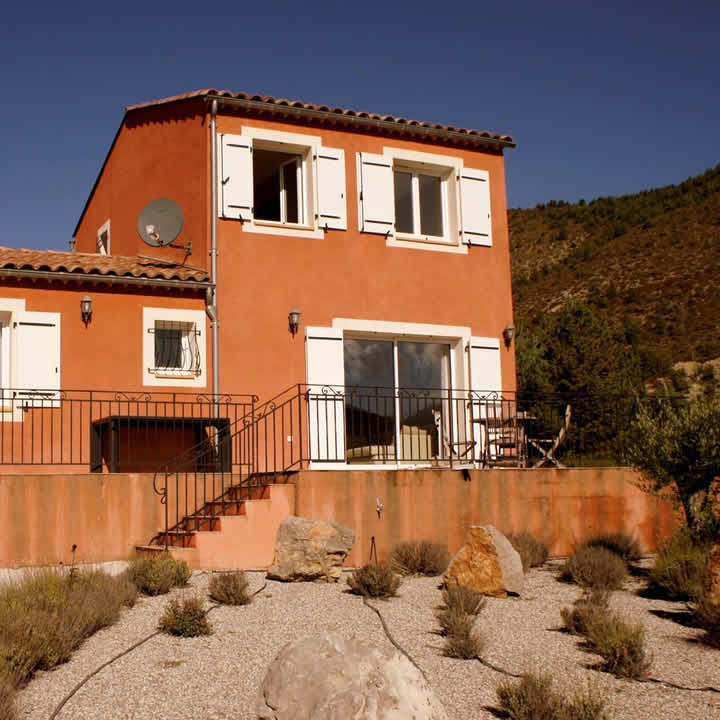 Villa's du Verdon bij Castellane