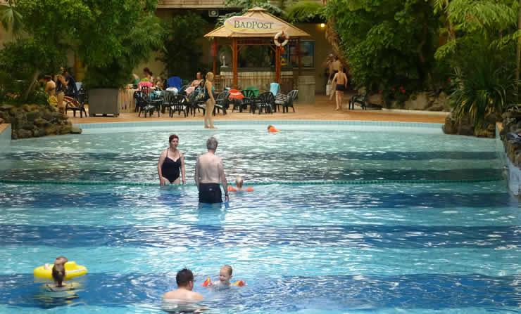Subtropische zwembaden Landal